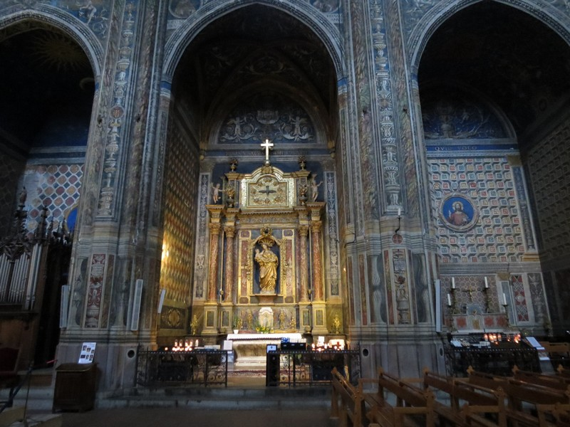 albi  ,sa cathédrale à découvrir Img_4911