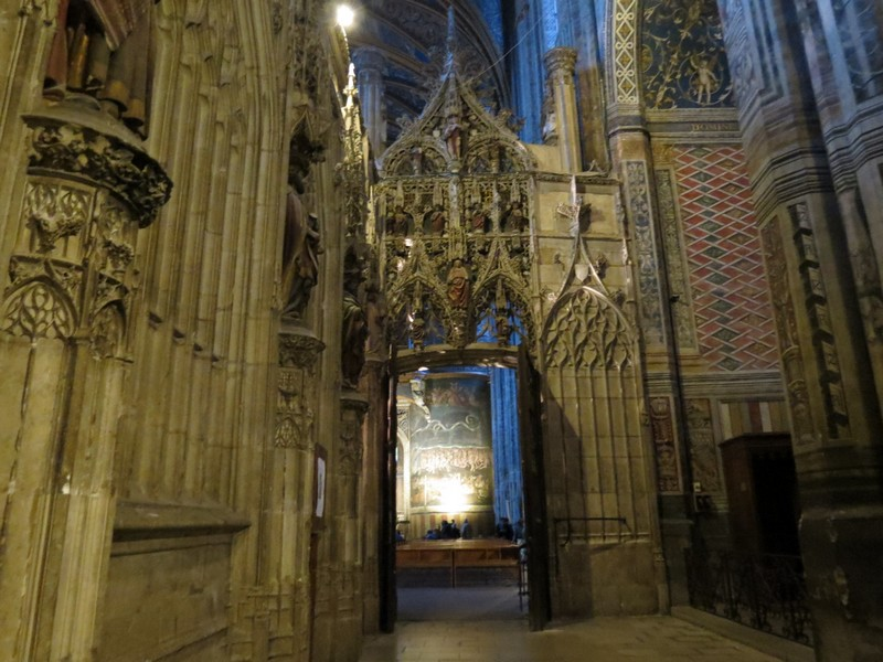albi  ,sa cathédrale à découvrir Img_4914