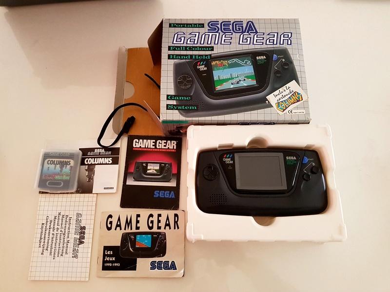 [EST] Lot Game Gear Console en Boîte +  25Jeux....Jeux Dreamcast 20161222