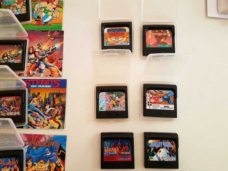 [EST] Lot Game Gear Console en Boîte +  25Jeux....Jeux Dreamcast 20161224