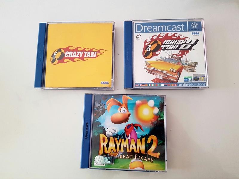 [EST] Lot Game Gear Console en Boîte +  25Jeux....Jeux Dreamcast 20161225