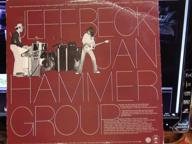 jeff beck with the jan hammer group live Dsc00170