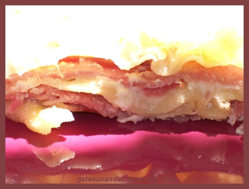 lasagnes au chèvre et bacon 01310