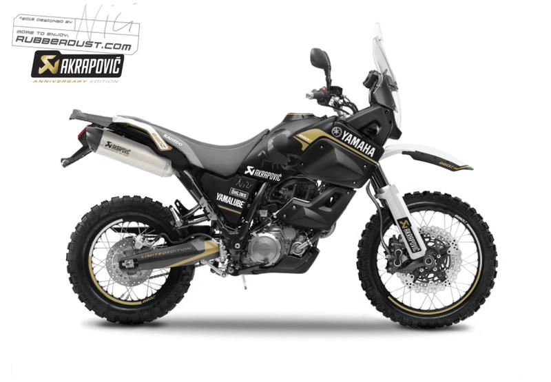 Kit adhesif xt660z Yamaha10