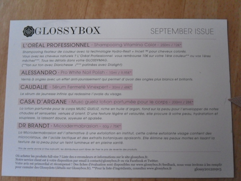 "[Septembre 2012] Glossybox ""September Issue"" V05_s311"
