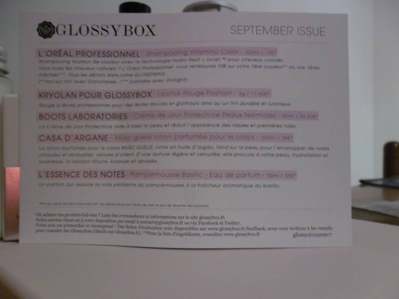 "[Septembre 2012] Glossybox ""September Issue"" V07_s211"