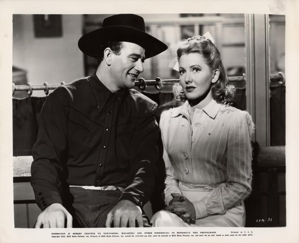 La Fille et son Cowboy - A Lady Takes A Chance - 1943 A_duk187