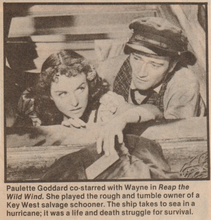 Les naufrageurs des mers du Sud - Reap the Wild Wind - 1942 Duke_280