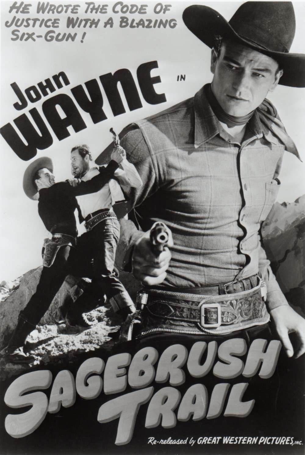 Sagebrush Trail (Justice pour un innocent) 1933 Duke_375