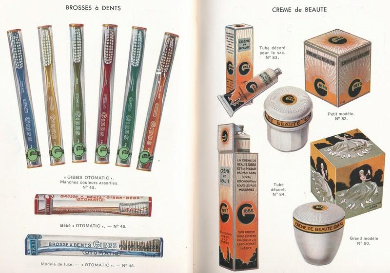 Les produits de toilettes, dont la célèbre marque Gibbs Catalo14