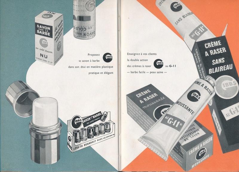 Les produits de toilettes, dont la célèbre marque Gibbs Catalo16