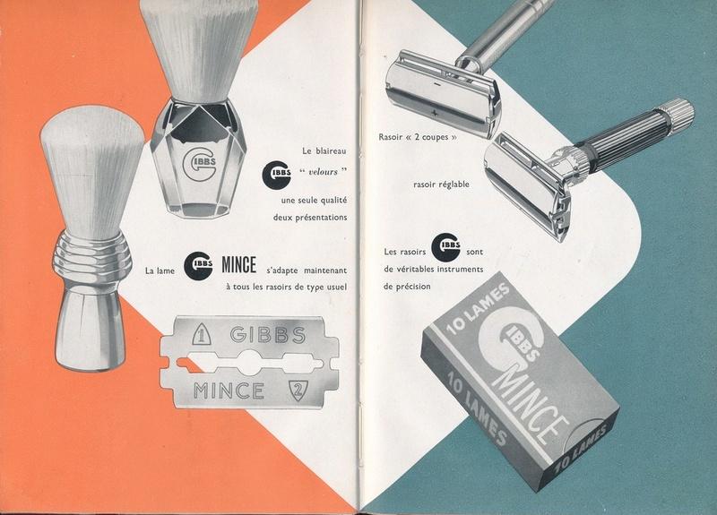 Les produits de toilettes, dont la célèbre marque Gibbs Catalo17