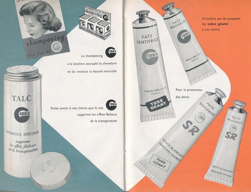 Les produits de toilettes, dont la célèbre marque Gibbs Catalo18