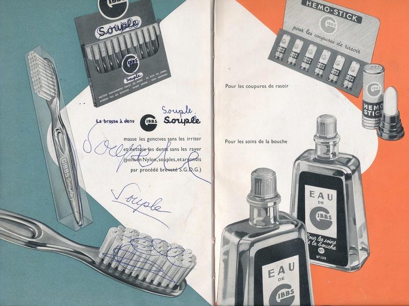Les produits de toilettes, dont la célèbre marque Gibbs Catalo19