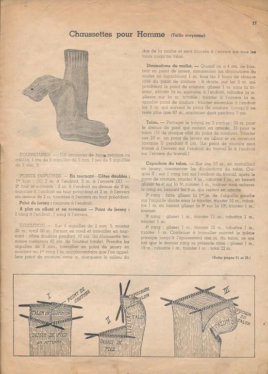 Magazine de tricots de 1939 pour les soldats Tricot28