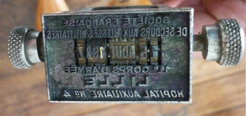 Tampons Secours aux blessés militaires, Lille 1914-1940 - ESC 2 P1530211