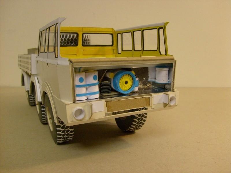 LKW TATRA 813 6x6 M1:20 Eigenbau gebaut von klebegold 100k10