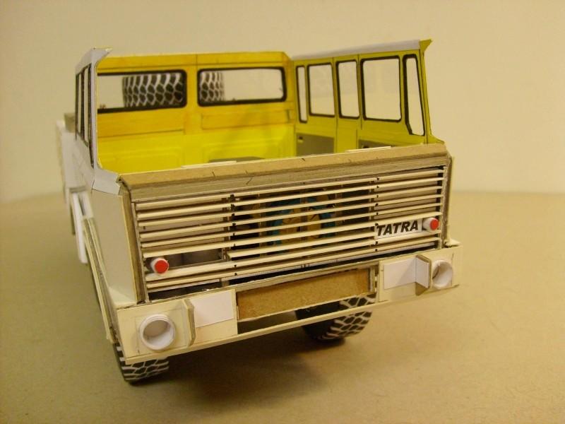LKW TATRA 813 6x6 M1:20 Eigenbau gebaut von klebegold 101k11