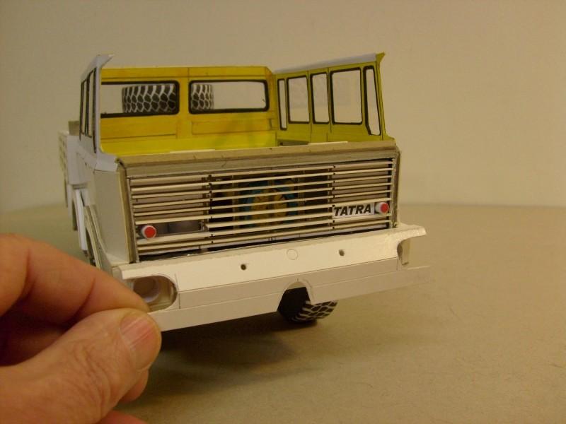 LKW TATRA 813 6x6 M1:20 Eigenbau gebaut von klebegold 102h10
