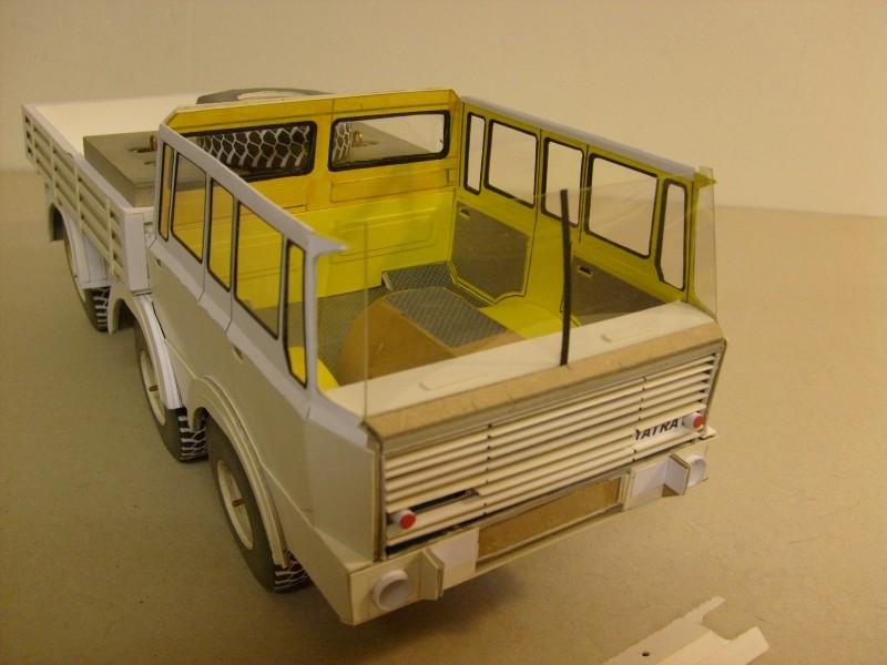 LKW TATRA 813 6x6 M1:20 Eigenbau gebaut von klebegold 103k11