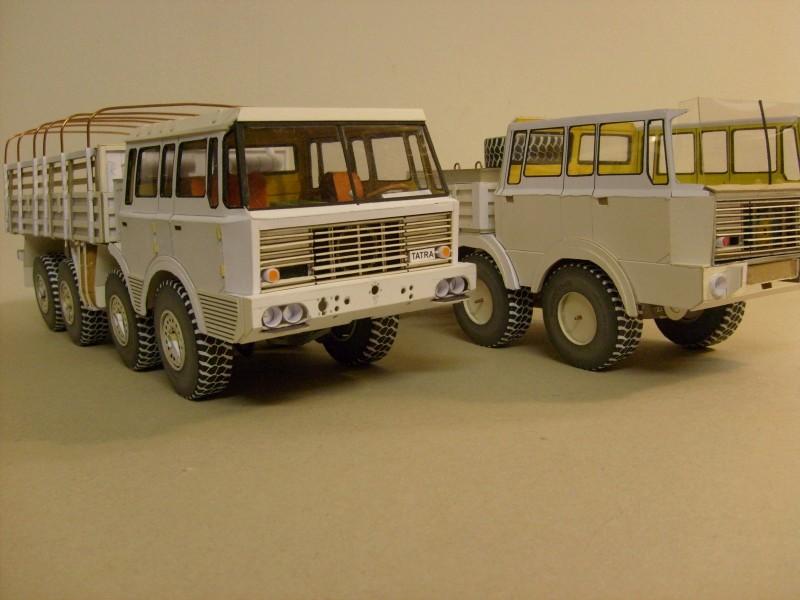 LKW TATRA 813 6x6 M1:20 Eigenbau gebaut von klebegold 104k10