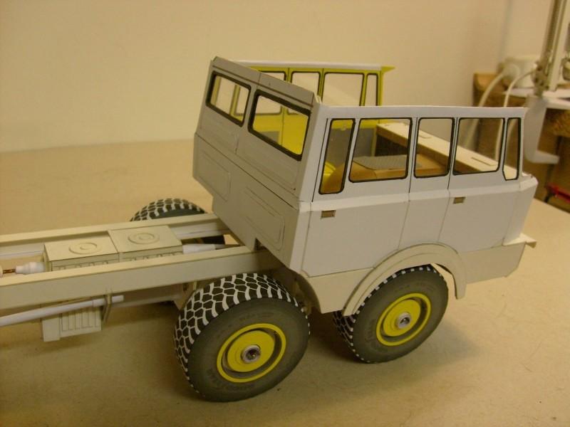 LKW TATRA 813 6x6 M1:20 Eigenbau gebaut von klebegold 105k10