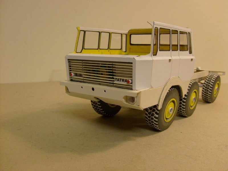 LKW TATRA 813 6x6 M1:20 Eigenbau gebaut von klebegold 106k11