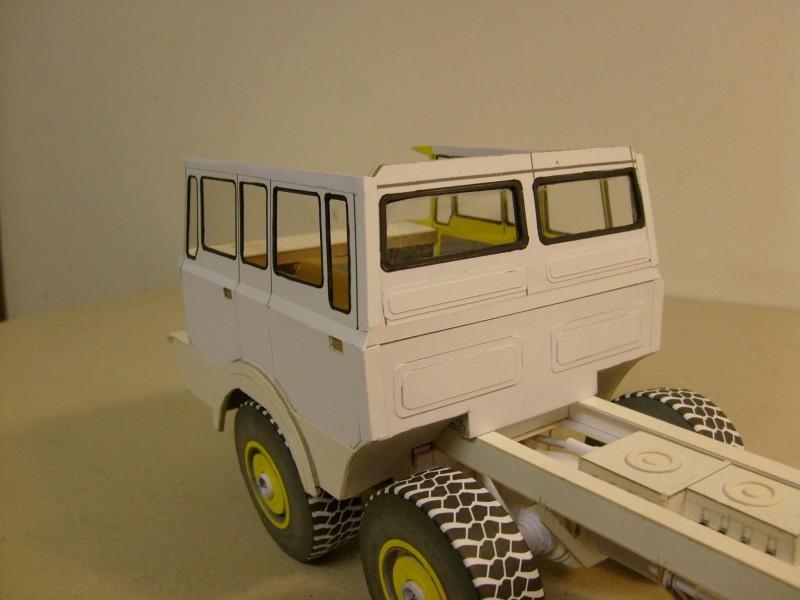 LKW TATRA 813 6x6 M1:20 Eigenbau gebaut von klebegold 108k11