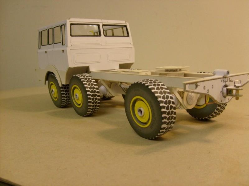LKW TATRA 813 6x6 M1:20 Eigenbau gebaut von klebegold 109k10