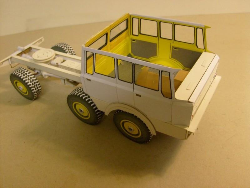 LKW TATRA 813 6x6 M1:20 Eigenbau gebaut von klebegold 110k12