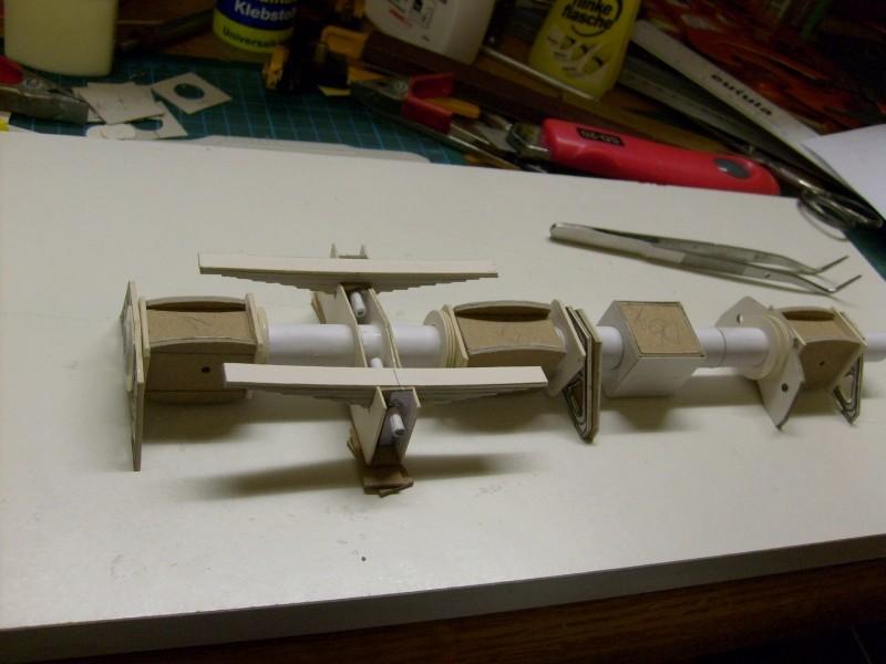 LKW TATRA 813 6x6 M1:20 Eigenbau gebaut von klebegold 13k10