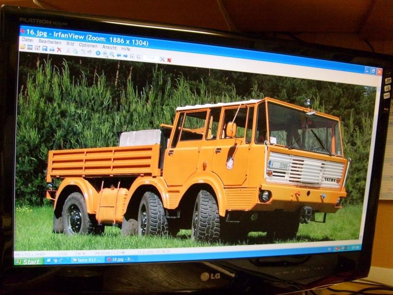 LKW TATRA 813 6x6 M1:20 Eigenbau gebaut von klebegold 17k10