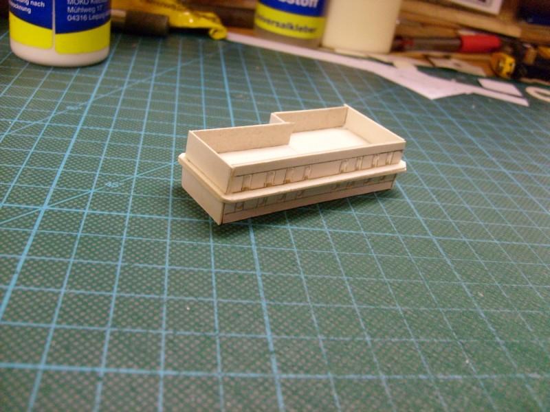 LKW TATRA 813 6x6 M1:20 Eigenbau gebaut von klebegold 19k10