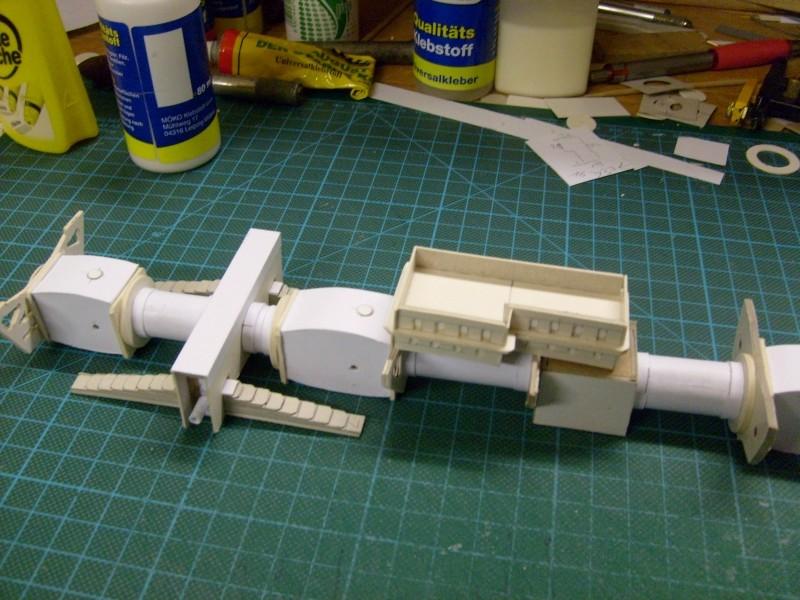 LKW TATRA 813 6x6 M1:20 Eigenbau gebaut von klebegold 20k10