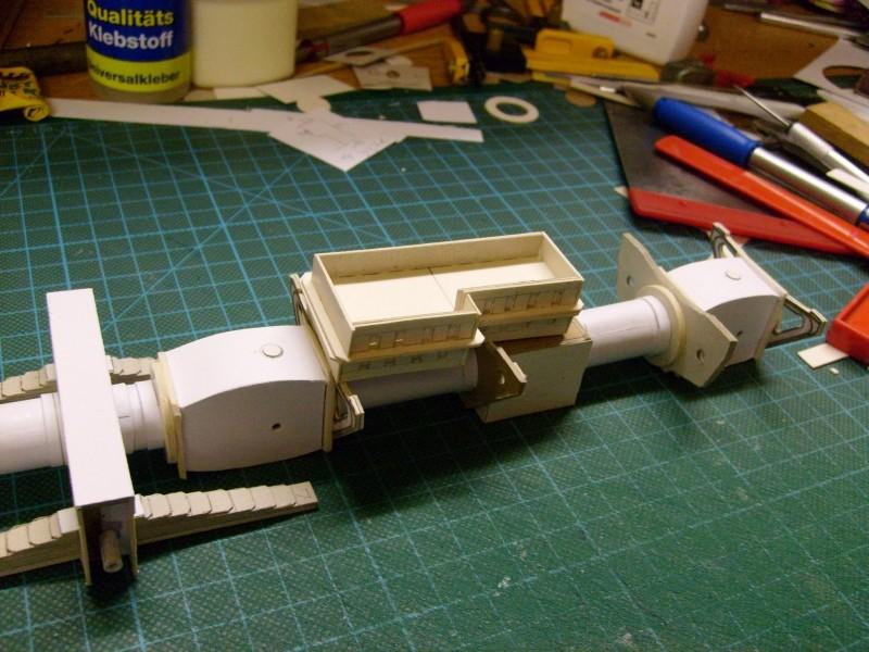 LKW TATRA 813 6x6 M1:20 Eigenbau gebaut von klebegold 21k10