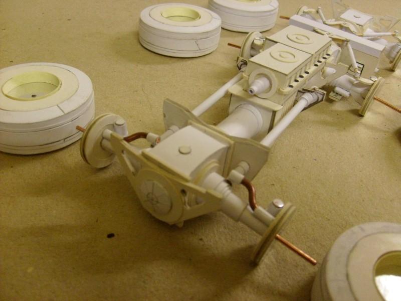 LKW TATRA 813 6x6 M1:20 Eigenbau gebaut von klebegold 30k10