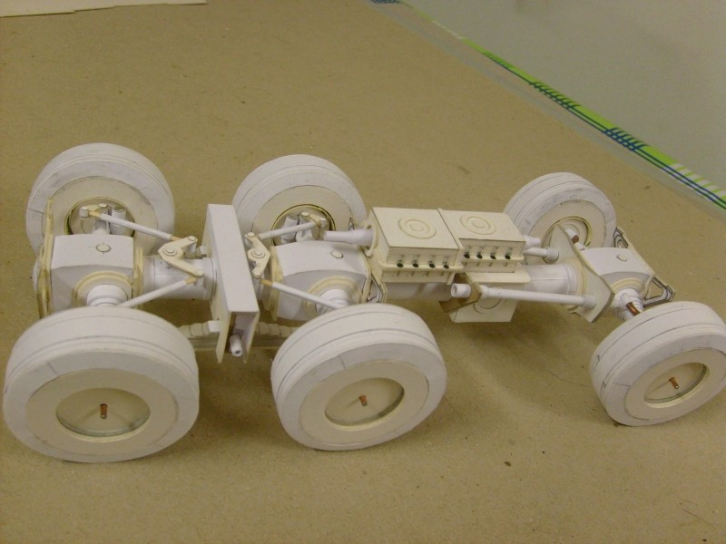 LKW TATRA 813 6x6 M1:20 Eigenbau gebaut von klebegold 33k10