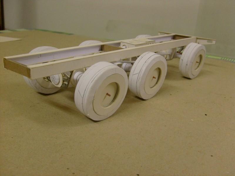 LKW TATRA 813 6x6 M1:20 Eigenbau gebaut von klebegold 36k10