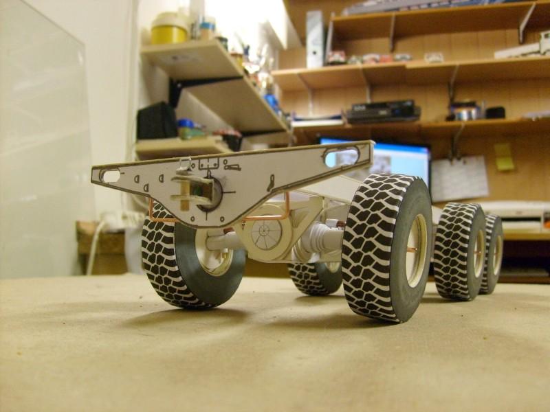 LKW TATRA 813 6x6 M1:20 Eigenbau gebaut von klebegold 52k10