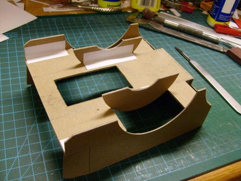 LKW TATRA 813 6x6 M1:20 Eigenbau gebaut von klebegold 55k10