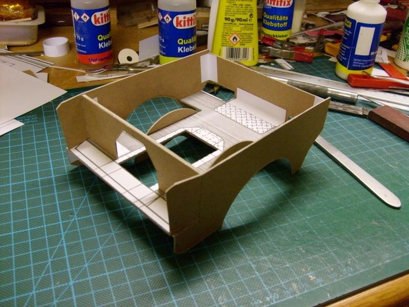 LKW TATRA 813 6x6 M1:20 Eigenbau gebaut von klebegold 56k10