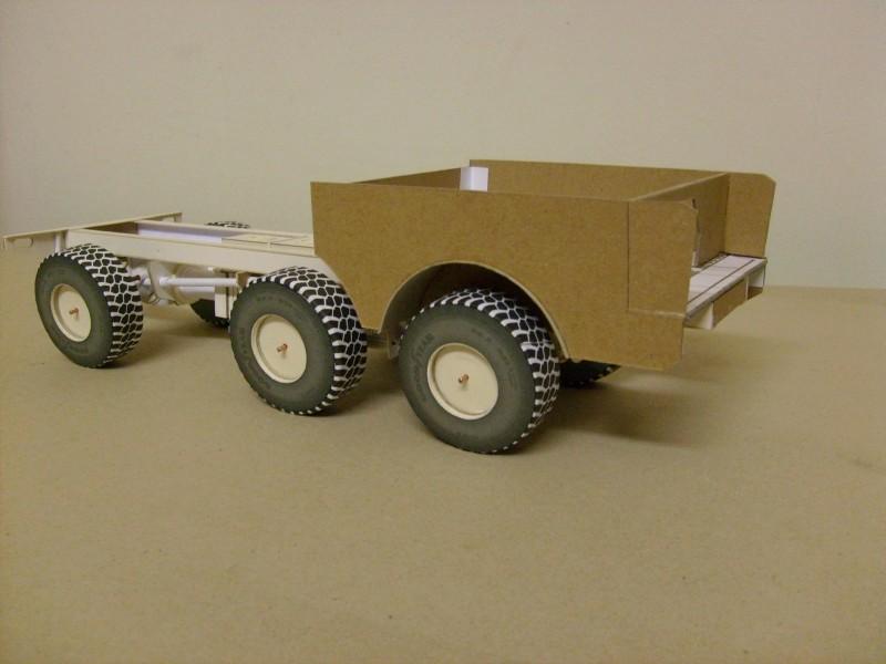 LKW TATRA 813 6x6 M1:20 Eigenbau gebaut von klebegold 59k11