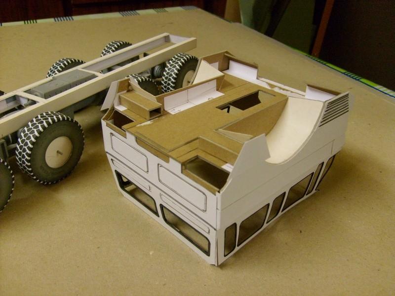 LKW TATRA 813 KOLOS M 1:20 gebaut von klebegold 69k10