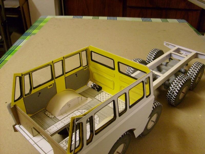 LKW TATRA 813 KOLOS M 1:20 gebaut von klebegold 72k10