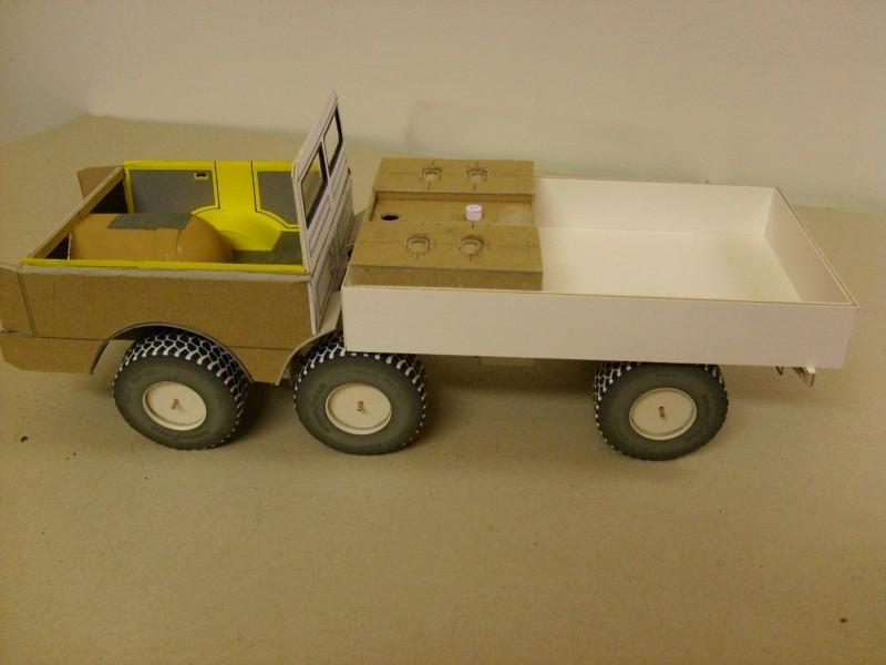 LKW TATRA 813 6x6 M1:20 Eigenbau gebaut von klebegold 77k10