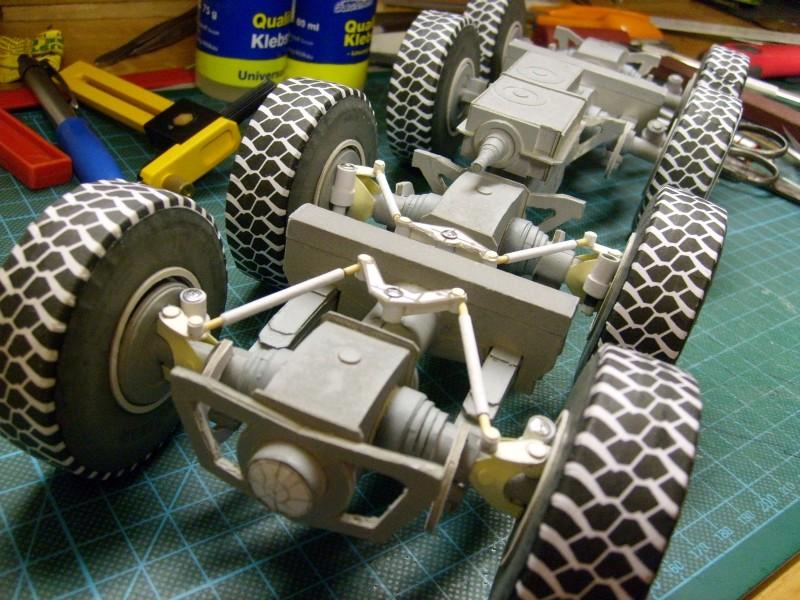 LKW TATRA 813 KOLOS M 1:20 gebaut von klebegold 85k10