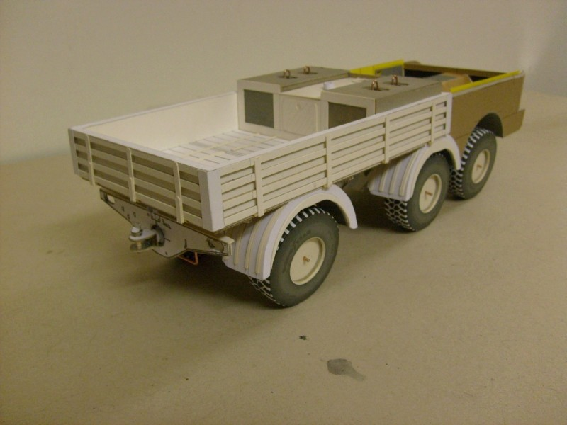 LKW TATRA 813 6x6 M1:20 Eigenbau gebaut von klebegold 85k11