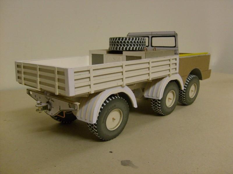 LKW TATRA 813 6x6 M1:20 Eigenbau gebaut von klebegold 86k11