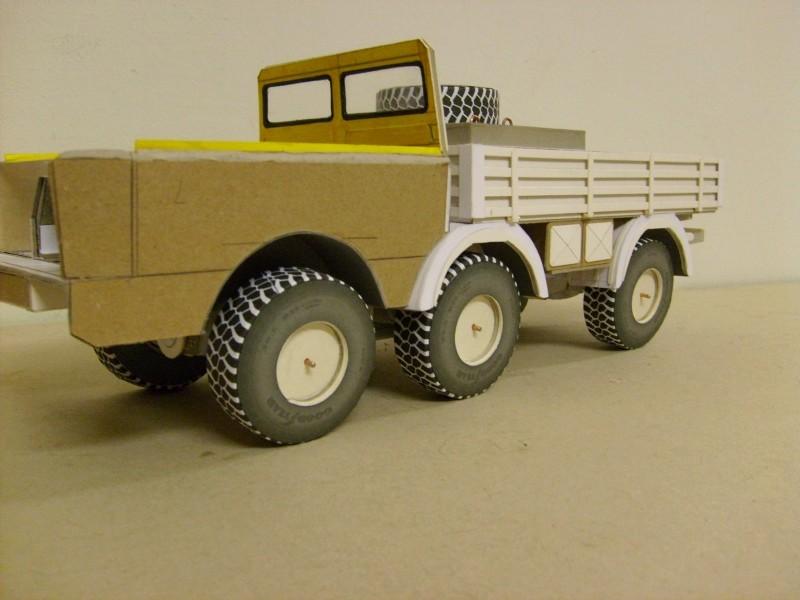 LKW TATRA 813 6x6 M1:20 Eigenbau gebaut von klebegold 88k11