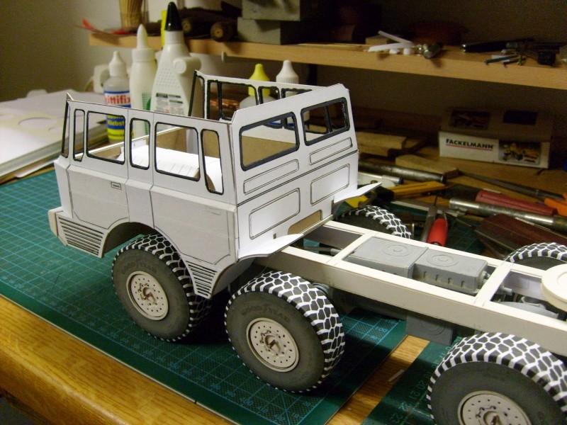 LKW TATRA 813 KOLOS M 1:20 gebaut von klebegold 91k10